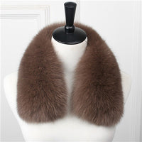 Genuine Fox Fur Collar D - Go Steampunk