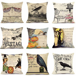 Velvety Steampunk Decorative Pillow Cover