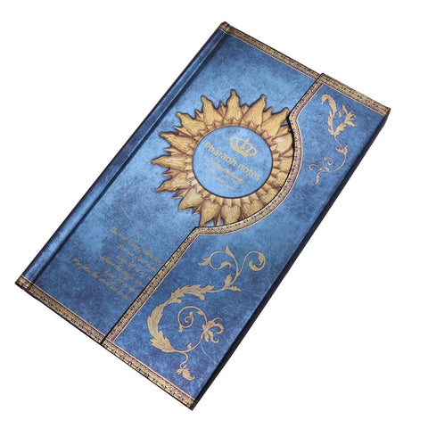Mysterious Magnet Buckle Magic Notebook Diary Blue 1 pcs / 192 x 115 x 18mm - Go Steampunk