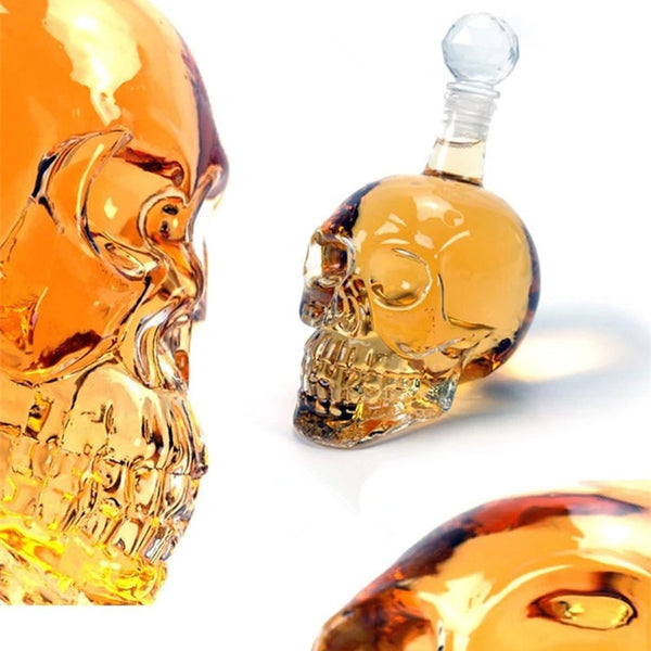 Crystal Skull Decanter Default Title - Go Steampunk