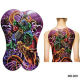Full back, chest, or body temporary tattoo MB 009 - Go Steampunk