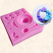 Load image into Gallery viewer, Victorian Hat 3D Silicone Fondant Mold - Go Steampunk