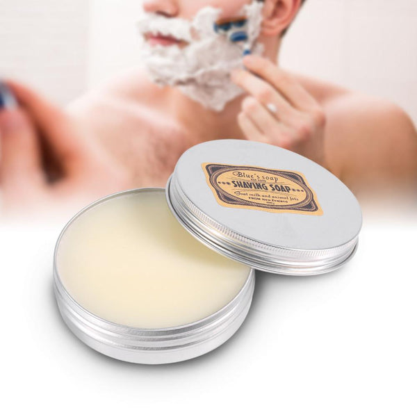 Deluxe Facial Goat Milk Beard Shaving Soap