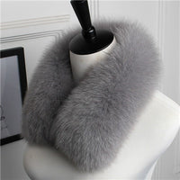 Genuine Fox Fur Collar H - Go Steampunk