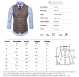 Slim Double Breasted Plaid Waistcoat - Go Steampunk