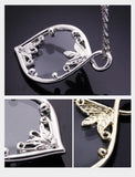 Fashion Leaf Decorative Pendant Magnifier