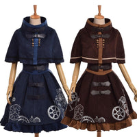 Elegant Steampunk Lolita Dress - Go Steampunk