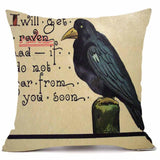 Velvety Steampunk Decorative Pillow Cover H - Go Steampunk