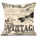 Velvety Steampunk Decorative Pillow Cover D - Go Steampunk