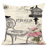 Velvety Steampunk Decorative Pillow Cover C - Go Steampunk