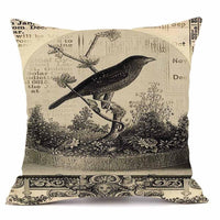 Velvety Steampunk Decorative Pillow Cover B - Go Steampunk