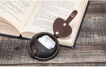 Load image into Gallery viewer, Genuine Leather Round Pocket Case - Go Steampunk