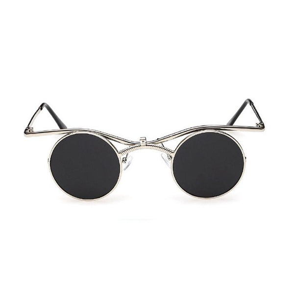 Round Mirrored Circle Sunglasses Oculos De Sol