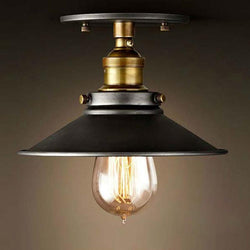 Vintage Industrial Design Round Ceiling Light