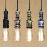 Steampunk Industrial Iron Water Pipe Pendant Lamp - Go Steampunk