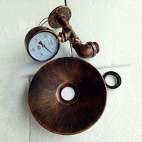 Imitated Water Pipe Wall Sconce - Go Steampunk