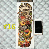 Waterproof 3d Arm Sleeve Temporary Tattoo 16 - Go Steampunk
