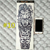 Waterproof 3d Arm Sleeve Temporary Tattoo 10 - Go Steampunk