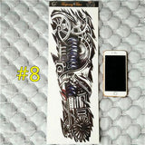 Waterproof 3d Arm Sleeve Temporary Tattoo 8 - Go Steampunk