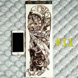Waterproof 3d Arm Sleeve Temporary Tattoo 11 - Go Steampunk