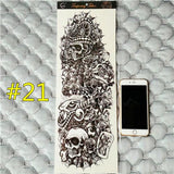 Waterproof 3d Arm Sleeve Temporary Tattoo 21 - Go Steampunk