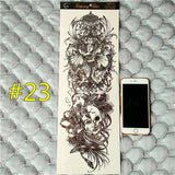 Waterproof 3d Arm Sleeve Temporary Tattoo 23 - Go Steampunk