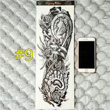 Waterproof 3d Arm Sleeve Temporary Tattoo 9 - Go Steampunk