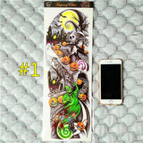 Waterproof 3d Arm Sleeve Temporary Tattoo 1 - Go Steampunk