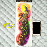 Waterproof 3d Arm Sleeve Temporary Tattoo 14 - Go Steampunk