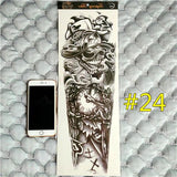 Waterproof 3d Arm Sleeve Temporary Tattoo 24 - Go Steampunk