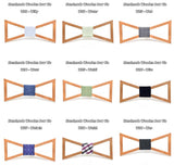 Handmade Wood Bow Ties