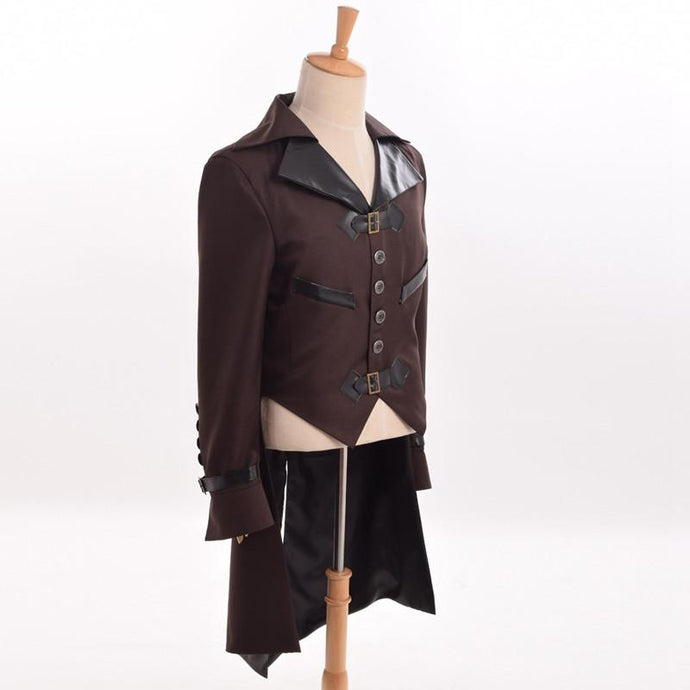 Men's Victorian Steampunk Swallow-tailed Coat - Go Steampunk