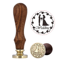 Wax Seal Stamp Designs Wedding - Go Steampunk
