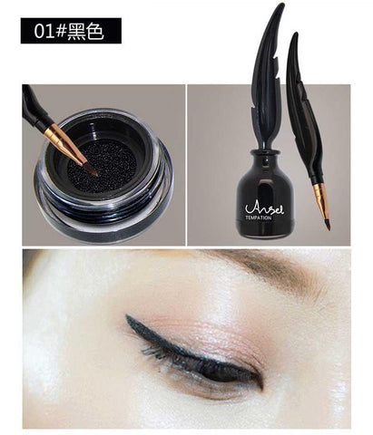 Feather Shape Air Cushion Liquid Eyeliner