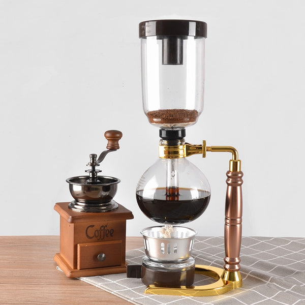 Vacuum Siphon Coffee/Tea Maker - Go Steampunk