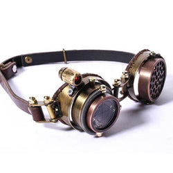 New High Grade Multilayer Lens Steampunk Goggle - Go Steampunk