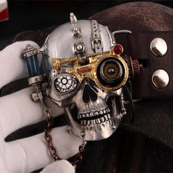 Steam Punk Skull Buckle Tin