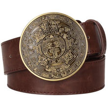 Load image into Gallery viewer, Aztec Belt 7 - Go Steampunk