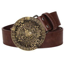 Load image into Gallery viewer, Aztec Belt 2 - Go Steampunk