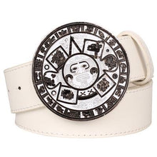 Load image into Gallery viewer, Aztec Belt 14 - Go Steampunk