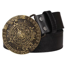 Load image into Gallery viewer, Aztec Belt 1 - Go Steampunk