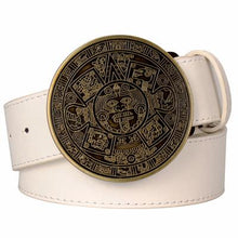 Load image into Gallery viewer, Aztec Belt 8 - Go Steampunk