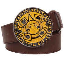 Load image into Gallery viewer, Aztec Belt 10 - Go Steampunk