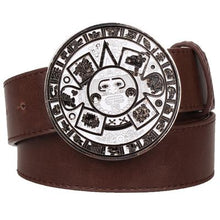 Load image into Gallery viewer, Aztec Belt 13 - Go Steampunk