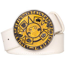 Load image into Gallery viewer, Aztec Belt 11 - Go Steampunk