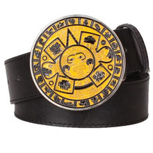 Load image into Gallery viewer, Aztec Belt 9 - Go Steampunk