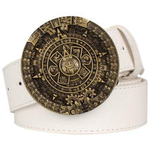 Load image into Gallery viewer, Aztec Belt 3 - Go Steampunk