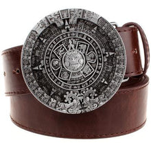 Load image into Gallery viewer, Aztec Belt 5 - Go Steampunk
