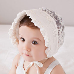 Princess Lace Baby Bonnet