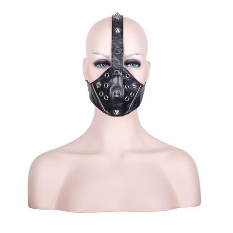 SteamPunk Handmade Unisex Leather Mask
